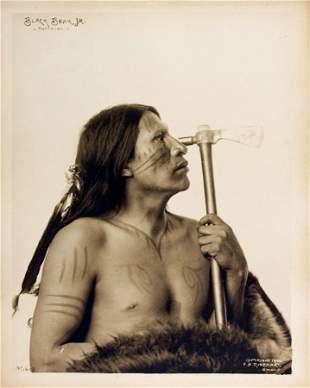 BLACK BEAR Jr. (Mato Sapa), Oglala Lakota, 1899.