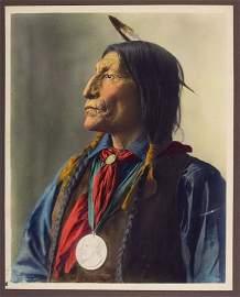 WOLF ROBE (Honii Wotama) Southern Cheyanne, 1908.