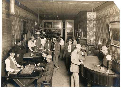 Gambling In Goldfield Hotel Nevada 1906