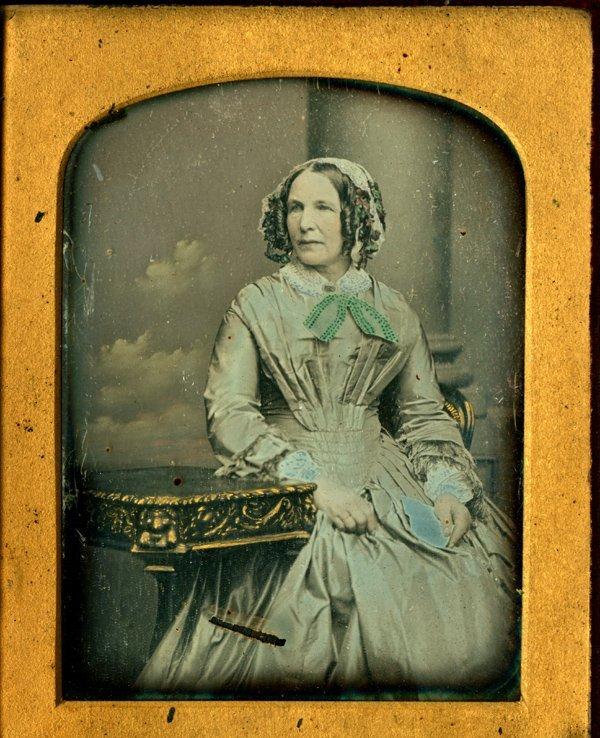 WOMAN IN BLUE BY KILBURN.