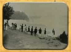 GROUP AT NIAGARA, BY BABBITT.