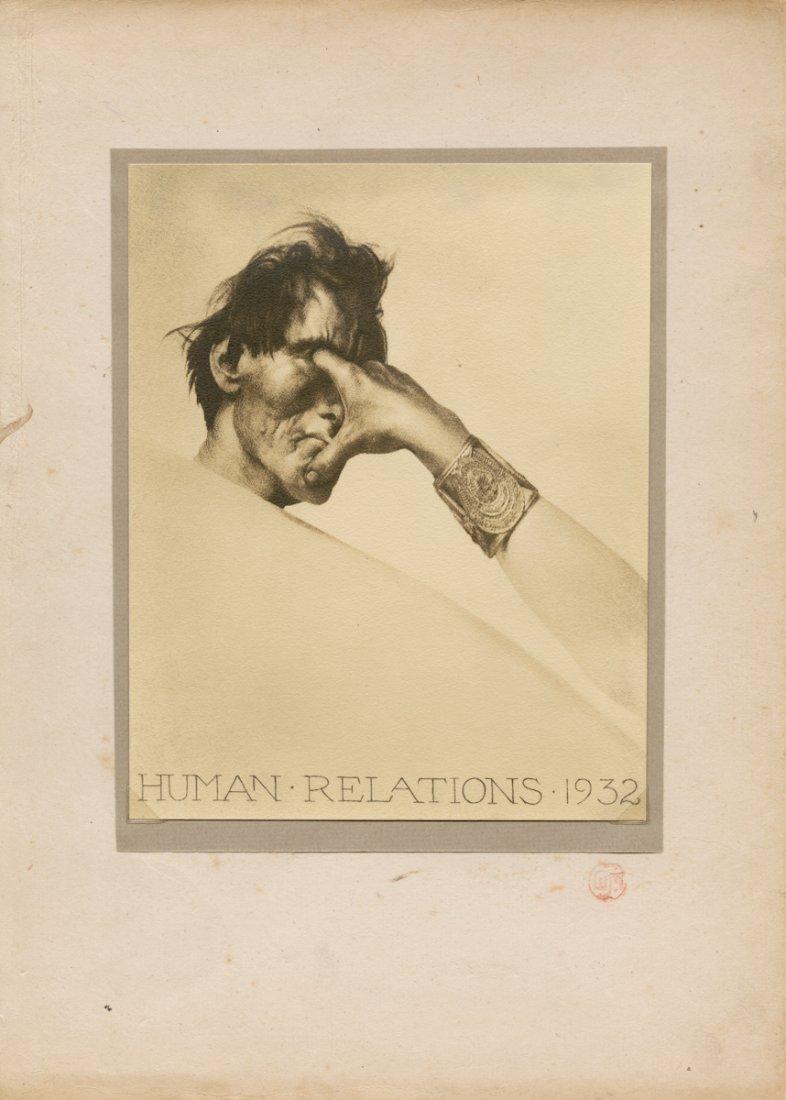 """""""HUMAN RELATIONS. 1932"""" by WILLIAM MORTENSEN."""
