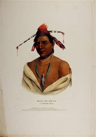MAR-K-ME-TE, a Menomene Indian. Colored litho..