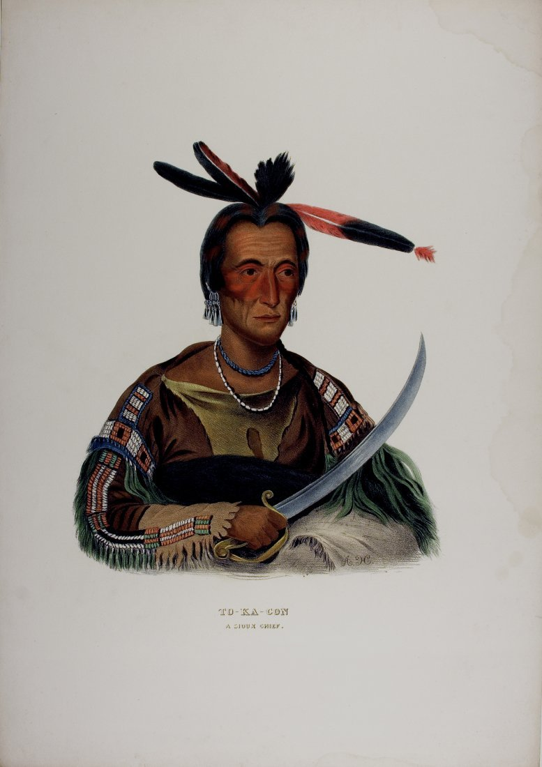 TO-KA-CON  Sioux Indian Chief.