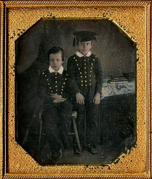 YOUNG SCHOLARS, BROTHERS WITH BUTTONS