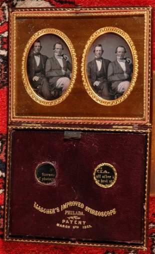 HALF PLATE MASCHER VIEWING CASE, LANGENHEIM AND WIMER
