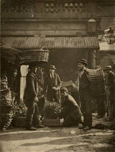 """COVENT GARDEN LABOURERS"""" BY JOHN THOMPSON"""