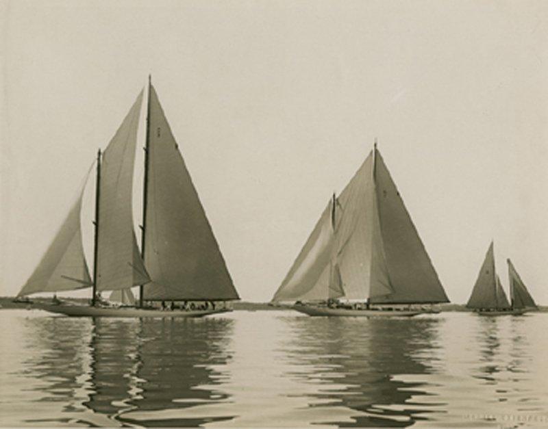 MORRIS ROSENFELD, YACHTS RESOLUTE & VANITIE, 1920