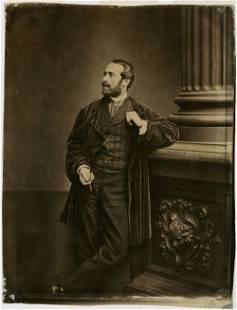 ANTOINE-SAMUEL ADAM-SALOMON, GENTLEMAN WITH CIGARETTE,