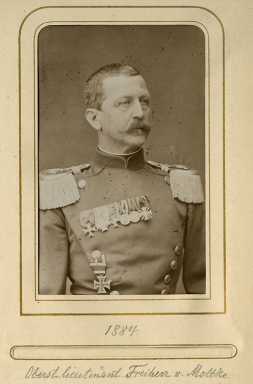 ALBUM OF GERMAN 19TH-CENTURY MILITARY OFFICERS