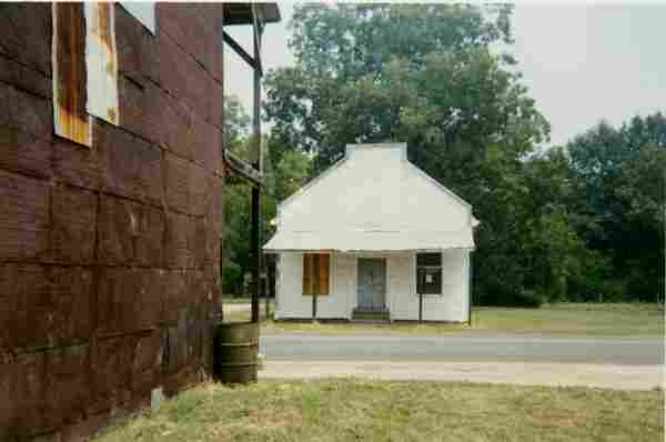 """WILLIAM CHRISTENBERRY, """"WAREHOUSE WALL AND STORE,"""