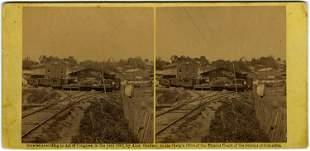 RR Depot at Warrenton, by Timothy O'Sullivan