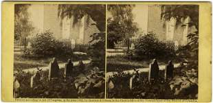 Ruins of Hampton Church, negative by George Barnard,