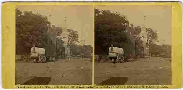 View in Culpepper Va. with O'Sullivan's photo wagon.