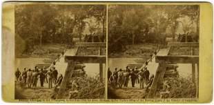 """Ruins of Bridge at Mrs. Nelson's,"" by O'Sullivan,"