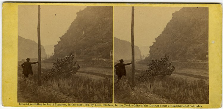 Brady at Harper's Ferry, 2 views C. 1862 by Gardner. - 2