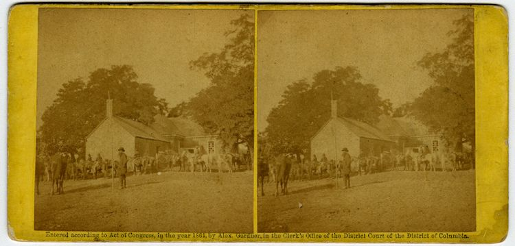Charles City Court House, June 12, 1864. . 7 views by