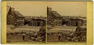 """Winter Quarters Confederate Army"" by Barnard. C. 1862"