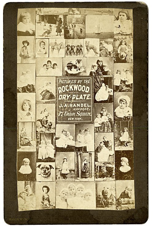 Advertisement for the sale of the Rockwood Dry Plate.