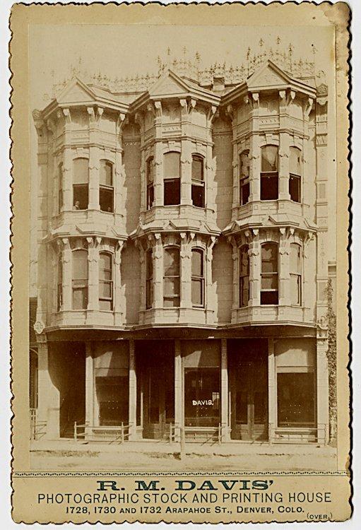 R. M. Davis' Photographic Stock and Printing House,