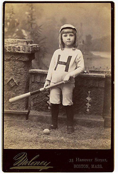 Baseball players. 3 cabinet cards. - 3