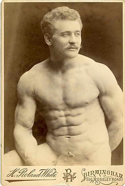 Eugen Sandow, by H. Roland White, Birmingham.