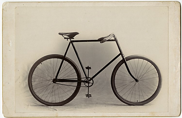 Bicycle advertising.