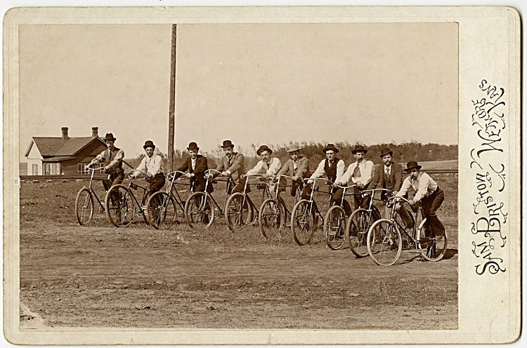 A rural bicycle club.