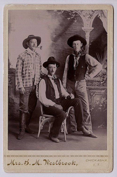Early settlers in Indian Territory,