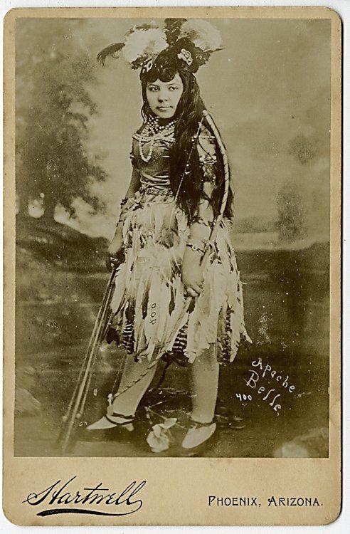 """Apache Belle"" by Hartwell, Phoenix, Arizona Territory."