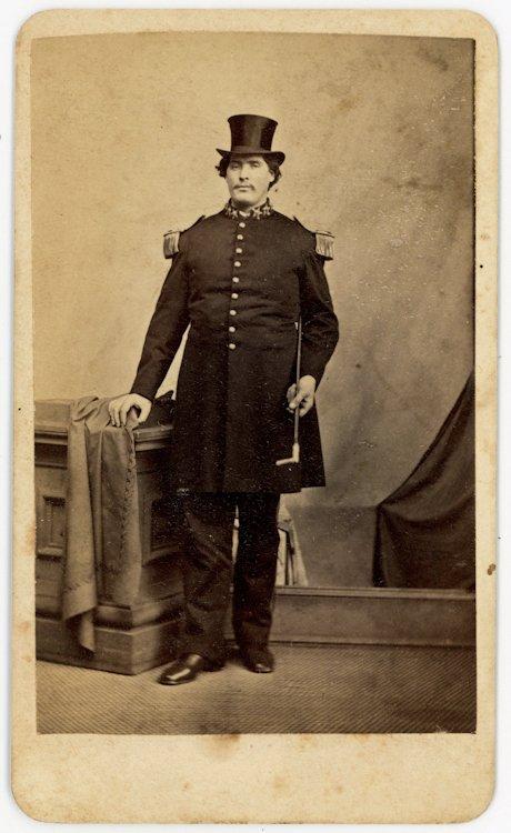 Captain M. V. [Martin Van Buren] Bates, a giant known