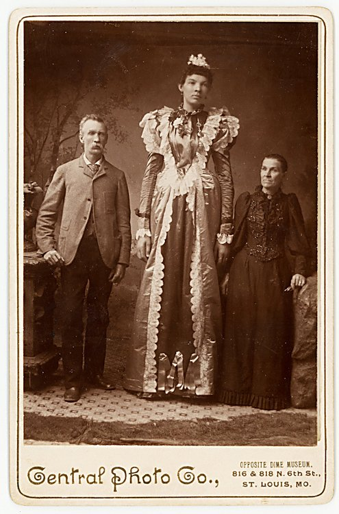 Ella Ewing, giant woman. Said to be over 8 feet tall. - 2