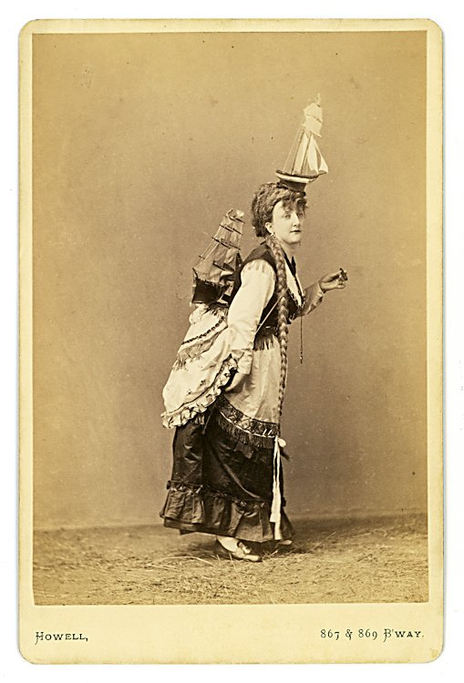 Emma Grattan, balancing act.