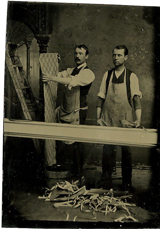 Installers of decorative molding.