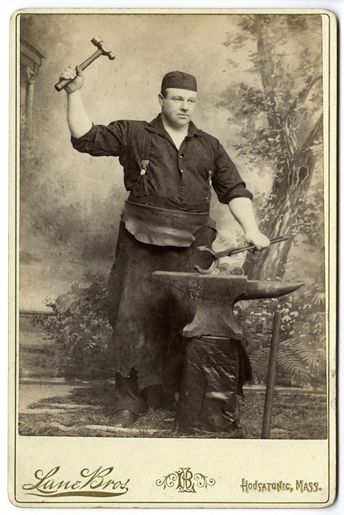 A blacksmith.