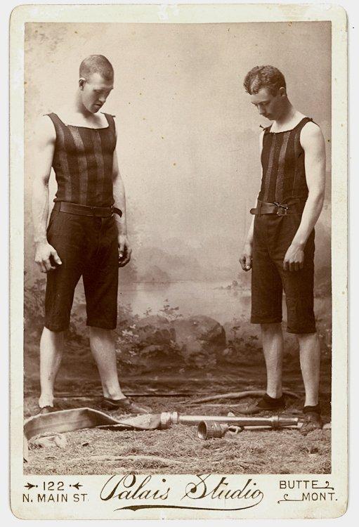 Firemen, winners of the 1892 World Hose Coupling