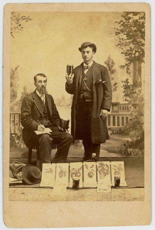 Salesmen of fruit preserves.