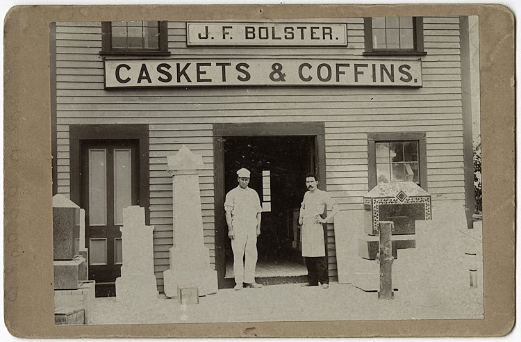 Makers of caskets and coffins.