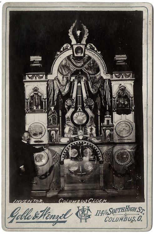 Inventor of the Columbus Clock.