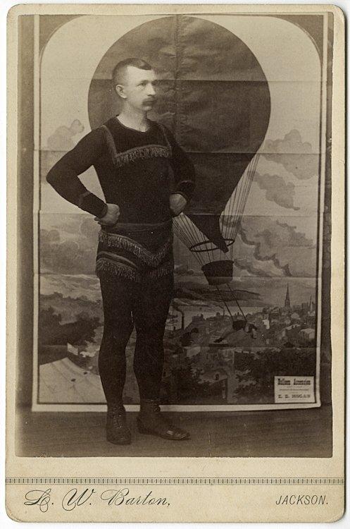 Balloonist Z. D. Hogan.