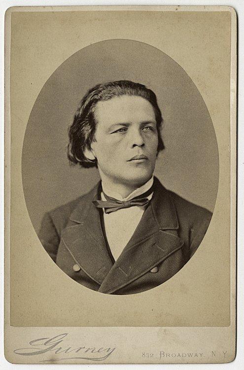 Anton Rubenstein, piano virtuoso and composer.
