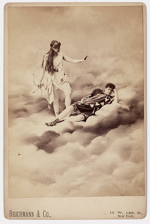 "In the clouds. From Ballet ""Sylvia"""
