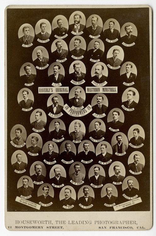 San Francisco Theater Companies, ca. 1878, 1879. - 2