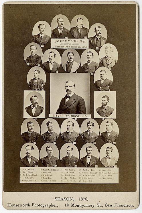 San Francisco Theater Companies, ca. 1878, 1879. - 3
