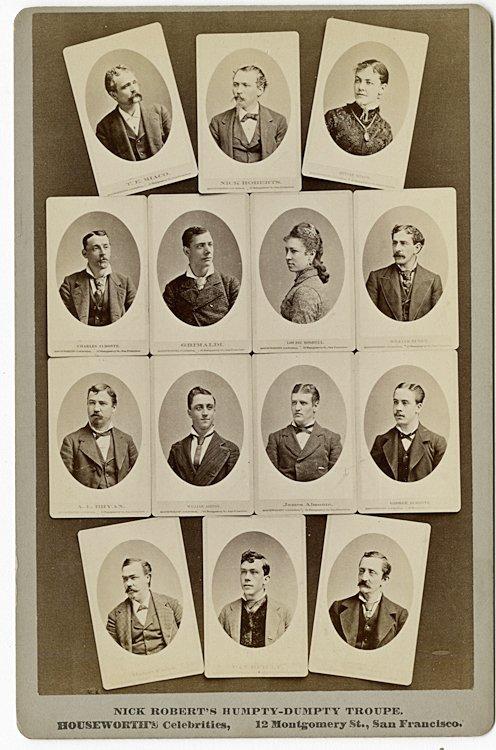 San Francisco Theater Companies, ca. 1878, 1879. - 5