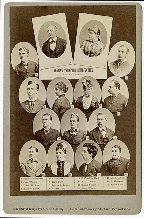 San Francisco Theater Companies, ca. 1878, 1879. - 6