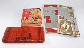 Royal Crown Cola Cards/Holders, Bottoms Up Game, Shazam