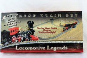 Locomotive Legends Desktop Train Set -Die Cast Engine