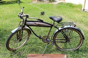 Vintage Homemade Parted out Bicycle