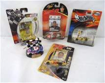 5 Nascar Hot Wheels Cars 1 Ornament Rookie of the Year